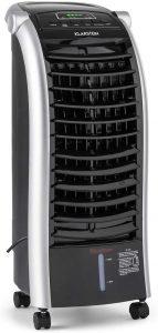 KLARSTEIN Maxfresh BK IceLine - Rafraîchisseur d'air, Humidificateur, Ventilateur, 3 Niveaux de Puissance, 3 Modes de Ventilation, Commande des...